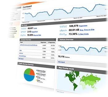 Google Analytics administrative interface