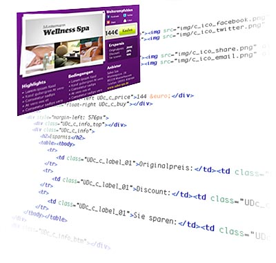 Prototype to XHTML/CSS conversion